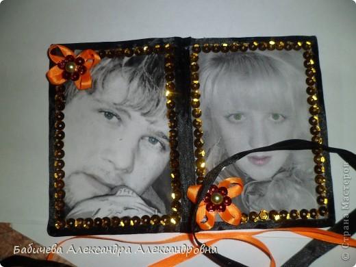 Обложка на паспорт из наших с любимым фотографий,распечатанные на принтере)) фото 2
