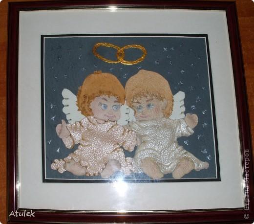 В моем доме поселились ангелочки...Их образ возник еще во время отпуска...но создать их получилось только сейчас. фото 1