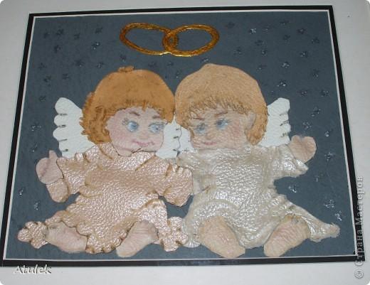 В моем доме поселились ангелочки...Их образ возник еще во время отпуска...но создать их получилось только сейчас. фото 2