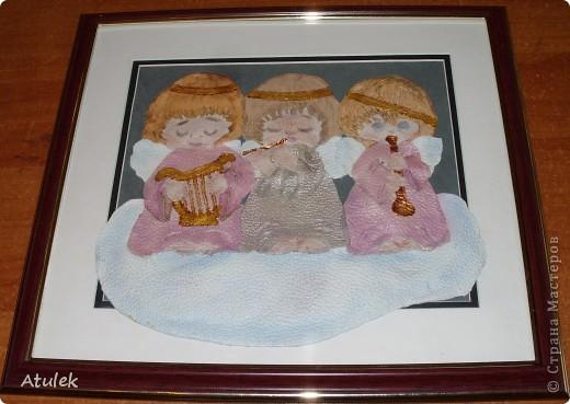 В моем доме поселились ангелочки...Их образ возник еще во время отпуска...но создать их получилось только сейчас. фото 3