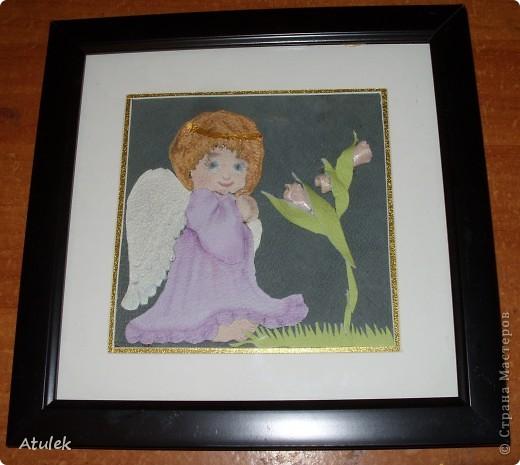 В моем доме поселились ангелочки...Их образ возник еще во время отпуска...но создать их получилось только сейчас. фото 4