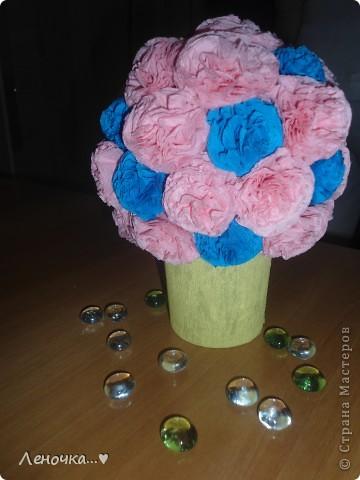 по началу ,этот цветочек  делался маме на работу,но на работе мама его подарила своей подруге,т.к. он ей очень приглянулся!))) фото 1