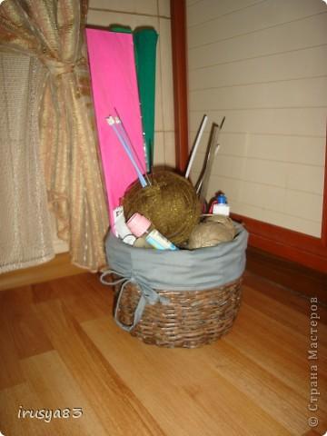 моя первая плетеночка-не очень удачная, плела месяца 3 фото 2