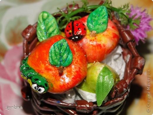 фрукты из соленного теста фото 2
