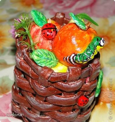 фрукты из соленного теста фото 3