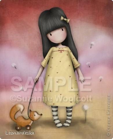 Вот и моя куколка. Имя Алиса. Потому что любит мечтать и витать в облаках, потому что мягкая и уютная, теплая девочка. Платье из фланельки (военные хомяковские запасы, страшно представить, 60х годов прошлого века :))) , волосы- атласная лента. фото 2