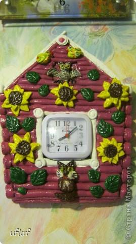 часы (повторюшка)Солёное тесто  фото 1