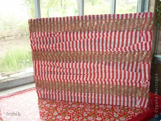 Коробочка для бумаги и дров фото 1