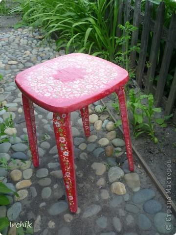 Дачный стульчик фото 1