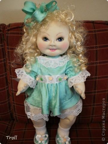 """Текстилные куклы-так сказат """"первая проба пера"""" фото 48"""