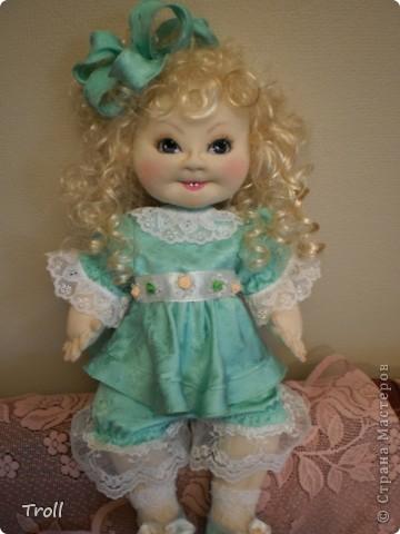 """Текстилные куклы-так сказат """"первая проба пера"""" фото 59"""