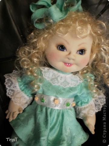 """Текстилные куклы-так сказат """"первая проба пера"""" фото 49"""