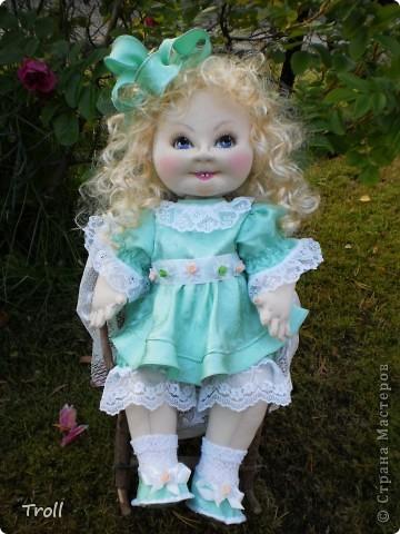 """Текстилные куклы-так сказат """"первая проба пера"""" фото 50"""