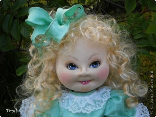"""Текстилные куклы-так сказат """"первая проба пера"""" фото 51"""