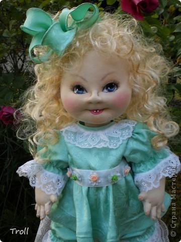 """Текстилные куклы-так сказат """"первая проба пера"""" фото 52"""