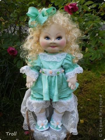 """Текстилные куклы-так сказат """"первая проба пера"""" фото 53"""