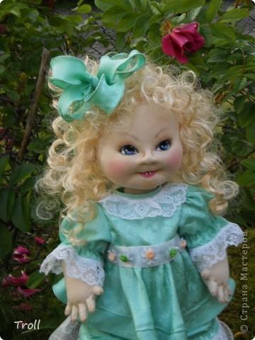"""Текстилные куклы-так сказат """"первая проба пера"""" фото 55"""