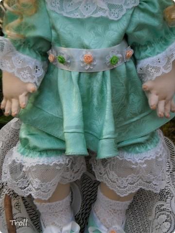"""Текстилные куклы-так сказат """"первая проба пера"""" фото 56"""