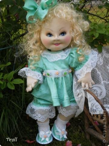 """Текстилные куклы-так сказат """"первая проба пера"""" фото 57"""
