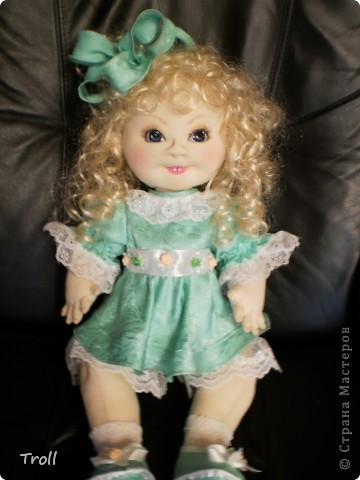 """Текстилные куклы-так сказат """"первая проба пера"""" фото 58"""