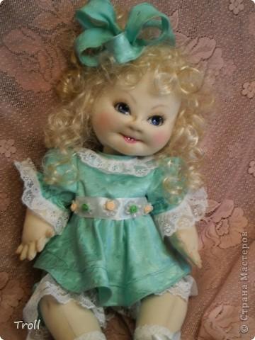 """Текстилные куклы-так сказат """"первая проба пера"""" фото 54"""