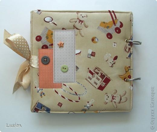 Американский хлопок, переплетный картон, прослойка синтепона и пуговицы  фото 8