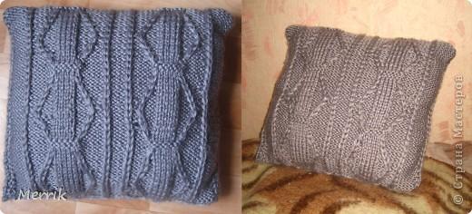 Не вязала лет 10=)но вот решила сделать подруге подарок-уж очень она хотела вязанную подушку=)