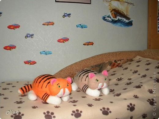 Игрушка Вязание Вязаные коты