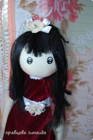 Игрушка Куклы Шитьё ЗДРАВСТВУЙТЕ  Я СИМОННА Ткань фото 2