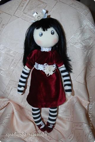 Игрушка Куклы Шитьё ЗДРАВСТВУЙТЕ  Я СИМОННА Ткань фото 5