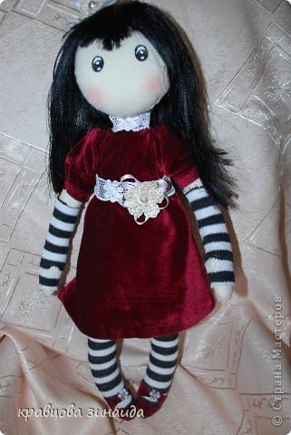 Игрушка Куклы Шитьё ЗДРАВСТВУЙТЕ  Я СИМОННА Ткань фото 8