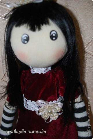 Игрушка Куклы Шитьё ЗДРАВСТВУЙТЕ  Я СИМОННА Ткань фото 1