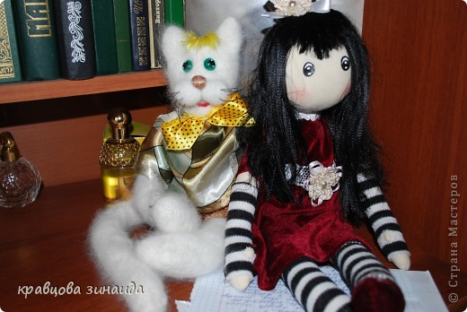 Игрушка Куклы Шитьё ЗДРАВСТВУЙТЕ  Я СИМОННА Ткань фото 6