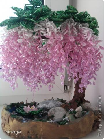 Мои деревья из бисера