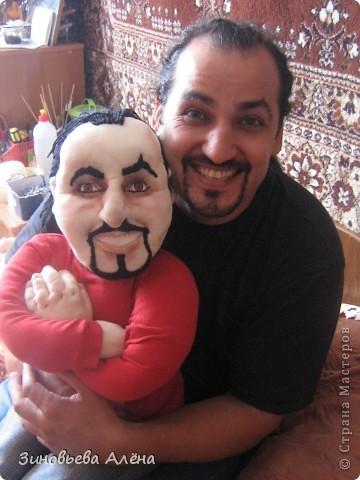 Мой брат забрал куклу свою сегодня,доволен-доволен.Оригинал и копия вместе. фото 1
