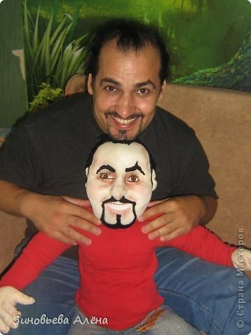 Мой брат забрал куклу свою сегодня,доволен-доволен.Оригинал и копия вместе. фото 5