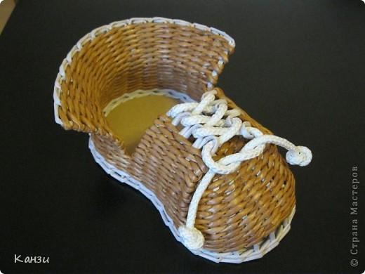 Ботинки Из Газетных Трубочек
