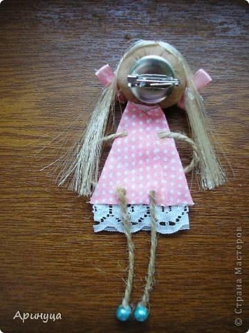 Вот такая смешнючая девчушка родилась вчера!!!!увидела в стране мастеров и тоже захотелось смастерить,к сожалению не могу вспомнить у кого,так что девчата не обижайтесь))) фото 3