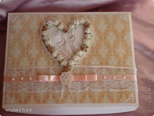 Подарочная коробка для свадебной книги фото 13