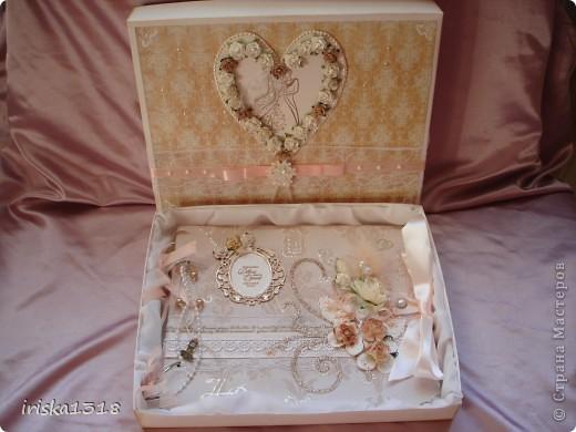 Подарочная коробка для свадебной книги фото 14