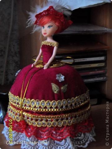 Куклы Поделка изделие День рождения Свадьба Опять барышни шкатулки Бисер Бусинки Кружево Ленты фото 1.