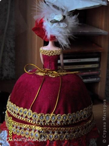 Куклы Поделка изделие День рождения Свадьба Опять барышни шкатулки Бисер Бусинки Кружево Ленты фото 2.