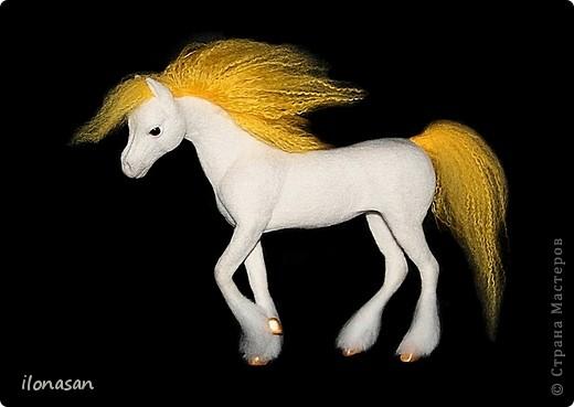 Лошадь из шерсти Сложность работы: выше средней Время работы: 15-20 дней Здравствуйте, Дорогой любитель лошадей и творчества! Предлагаю сделать своими руками скульптурную лошадь из шерсти. Общая высота Златы 23 см, высота в холке 17 см, длина 25 см. фото 42