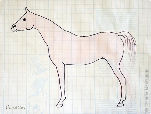 Лошадь из шерсти Сложность работы: выше средней Время работы: 15-20 дней Здравствуйте, Дорогой любитель лошадей и творчества! Предлагаю сделать своими руками скульптурную лошадь из шерсти. Общая высота Златы 23 см, высота в холке 17 см, длина 25 см. фото 18