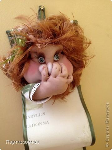 Сшить держатель в виде куклы для туалетной бумаги 65