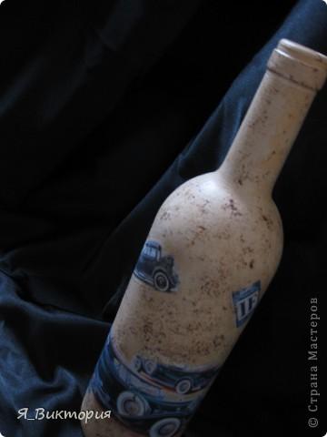 Здравствуйте, дорогие! Как же давно я сюда ничего не выставляла. У меня опять бутылки, прямо какая-то бутылкомания. Все сделаны на заказ. Покажу немного подробнее, если Вы не против. фото 7