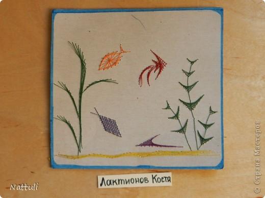 Работы сделаны на бросовом материале (коробки из под чая ,тортов и т.п.) фото 3