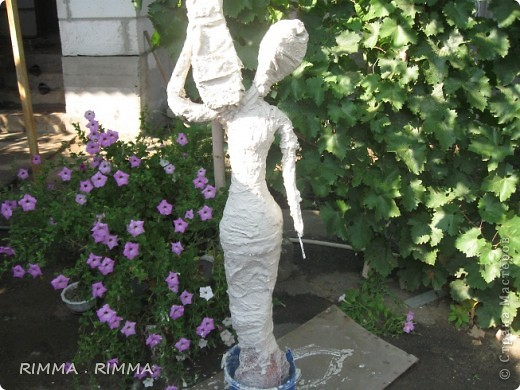 Садовая скульптура 3 мастер класса