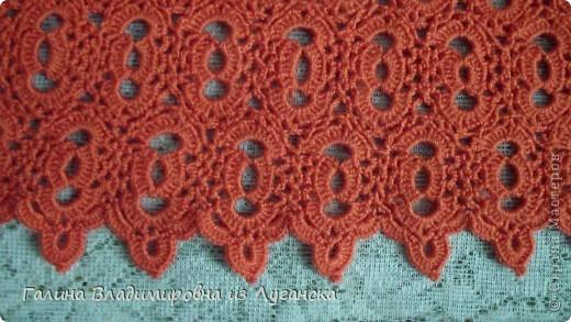 Гардероб Вязание крючком Коралловая кофточка Нитки фото 3