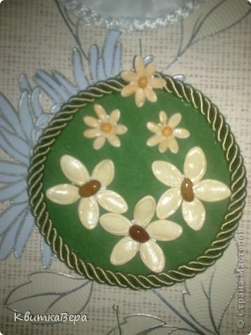 Новогодние елки из ватных дисков своими руками